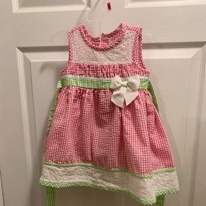 Spring time baby dress